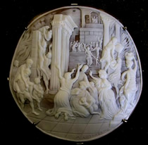 Cameo Brooch - jewelry appraisals by Carole C. Richbourg